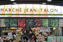 Jean-Talon Market, one of the largest public markets in North America, is a 2 minute walk from Sal's Place!