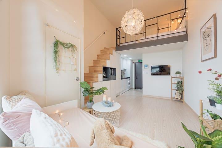 홍대 가장 최신 복층아파트