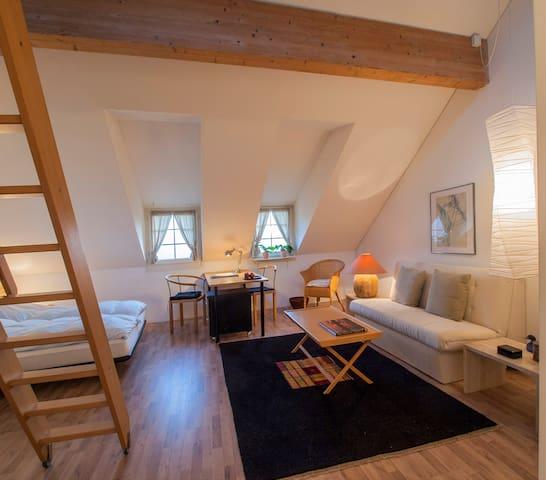 Landhaus Hense, abgeschlossene Atelierwohnung - Mühlethal