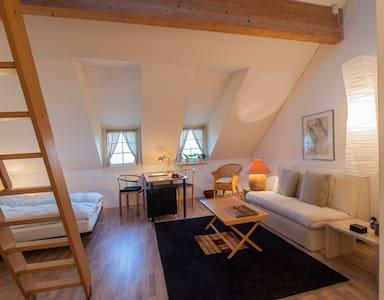 Landhaus Hense, abgeschlossene Atelierwohnung - Mühlethal - Lejlighedskompleks