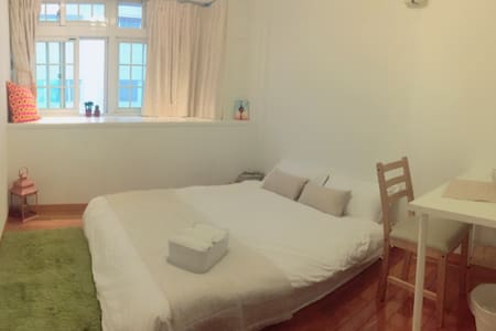 10 mins walk Taipei 101 MRT台北101站/ Room B - Xinyi District - Apartment