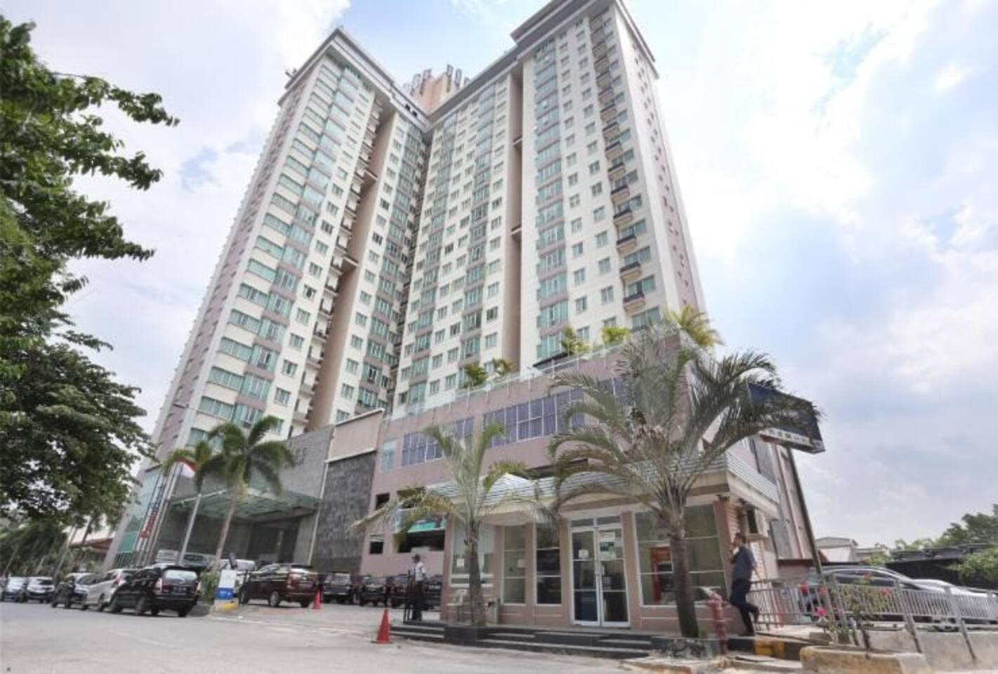 BCC Apartment Exterior...