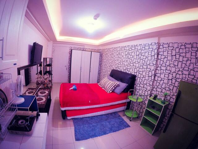 Room Studio with pool facilities - East Jakarta - Byt