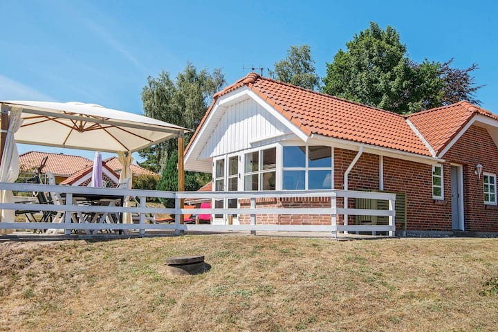 Sunny Holiday Home in Hejls with Terrace