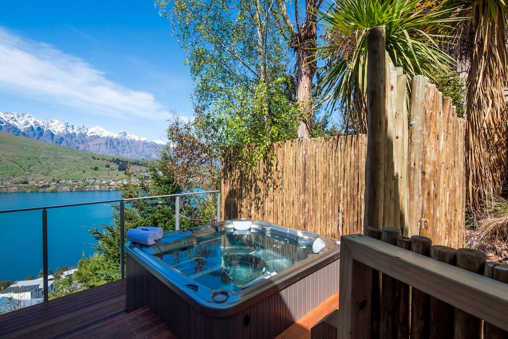 fantastic outdoor living spaces including this luxurious brand new spa pool