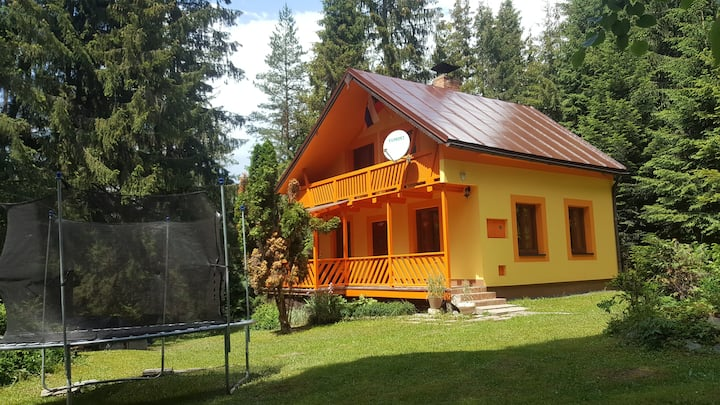 Celá chata od 100€ bez ďalších nákladov.