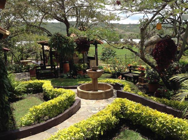 Casa ESMERALDA Finca Piedra Verde VILLA DE LEYVA - Boyacá - House