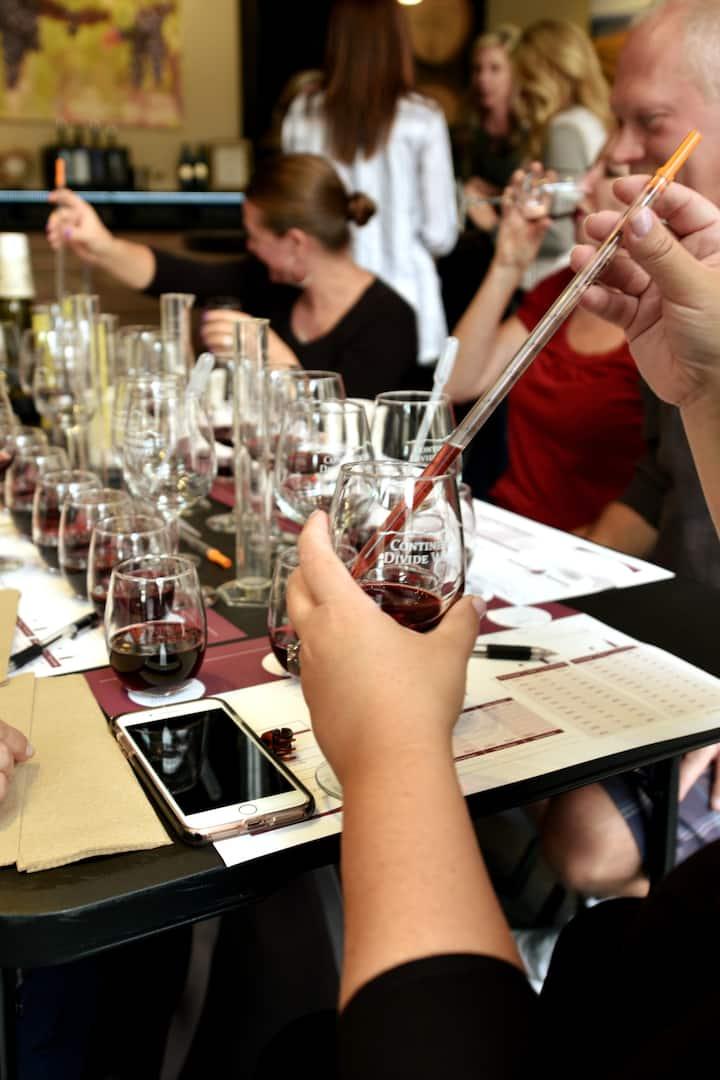 Use authentic vintner equipment.