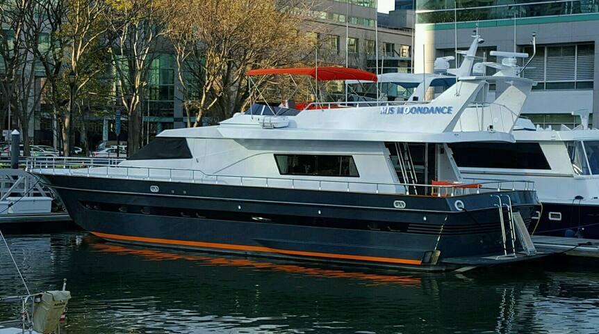 YACHT SUITE #3 portside cabin - Jersey City - Boat