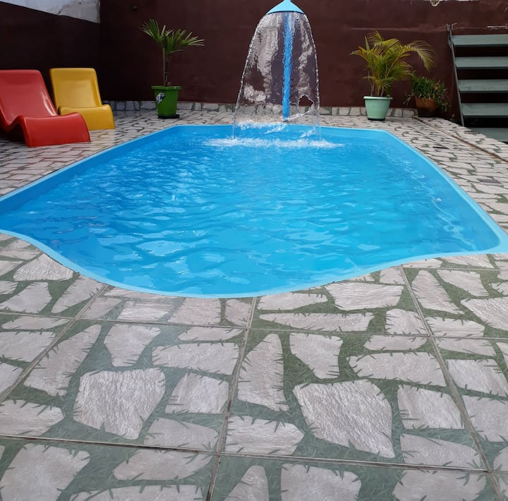 Casa com piscina aconchegante