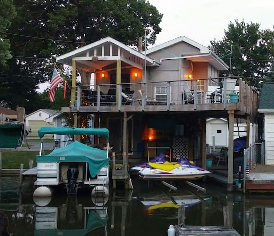 Key West Style Boathouse on Channel
