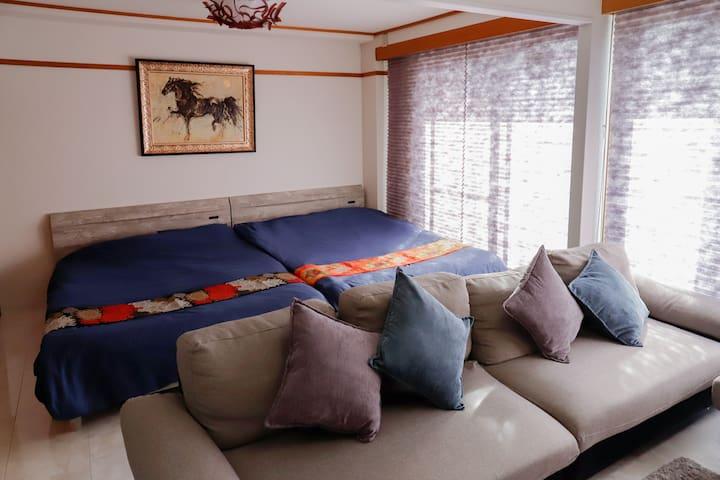鴨川徒歩1分 京都一の繁華街で貸切の宿 Megumi-An木屋町 501-朱雀-Suite-