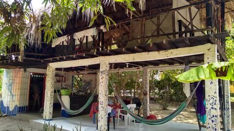 """""""Papalotl"""" Tropische hut - Natuurlijke ervaring"""