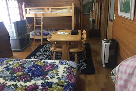 Big  Room in NIKKO for 5 person. - Nikkō-shi - Bed & Breakfast