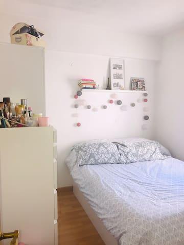 Encantadora y tranquila habitación