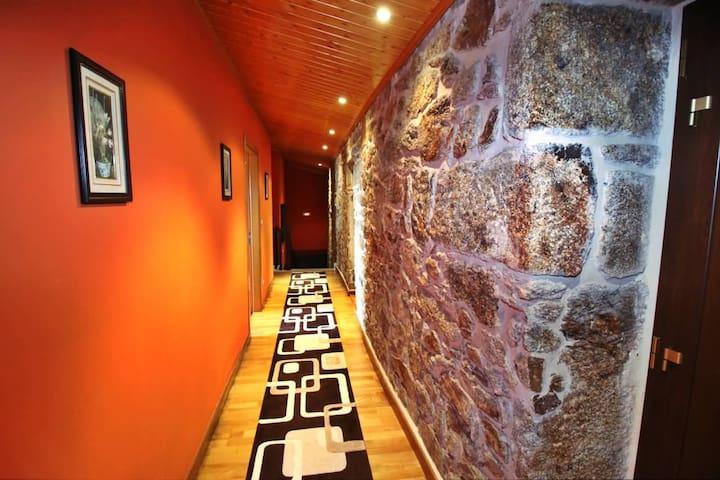 Traditional galician house - A Coruña - Huis