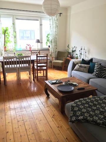 Cozy and spacious apartment - Malmö - Appartement