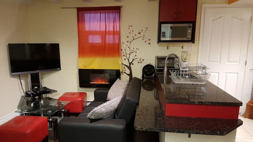 Furnished, Clean and Cozy 1 Bedroom Near Snowdon - Montréal - Condominio