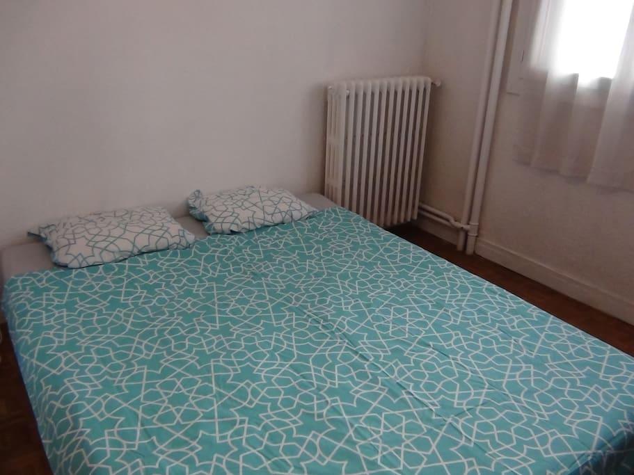 Le canapé-lit pour deux personnes