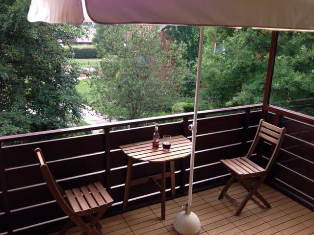 cozy apartment near Hamburg - Oststeinbek - Apartamento