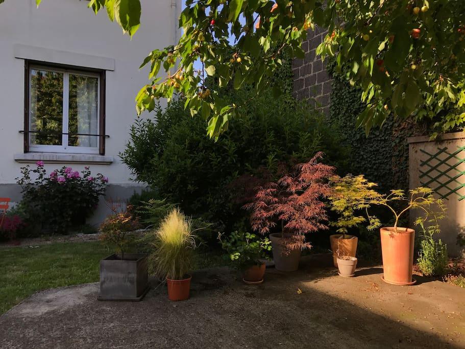 Chambres dans maison de ville ann e 30 avec jardin maisons de ville louer clermont ferrand - Massif jardin japonais clermont ferrand ...