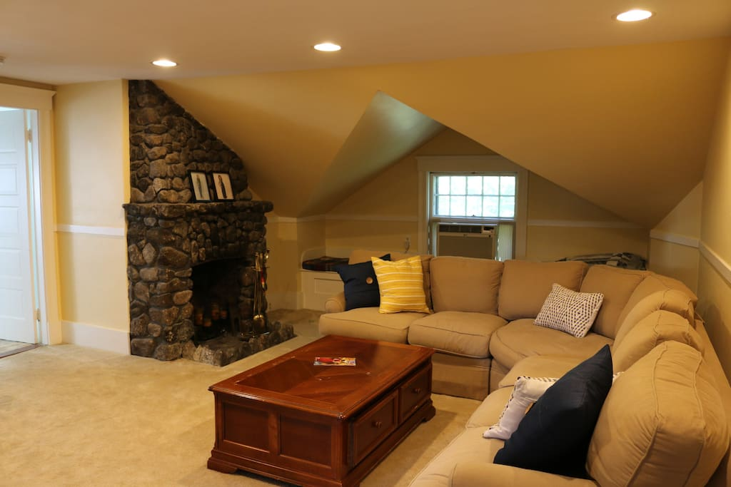 Large TV room shared with other guest only.