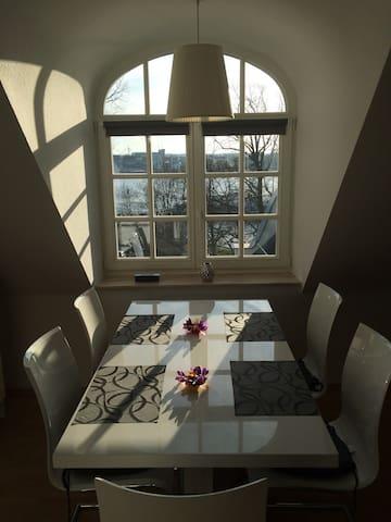 Maisonette Wohnung -Direkt am Fluss - Rostock - Apartament