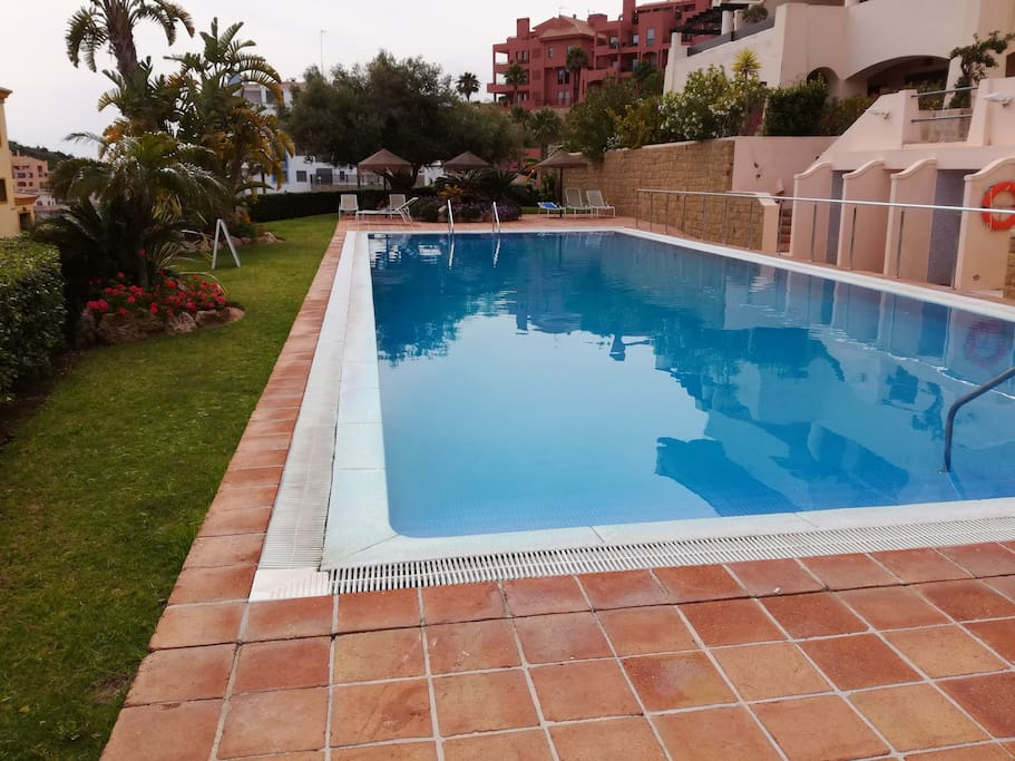 Second swimming pool