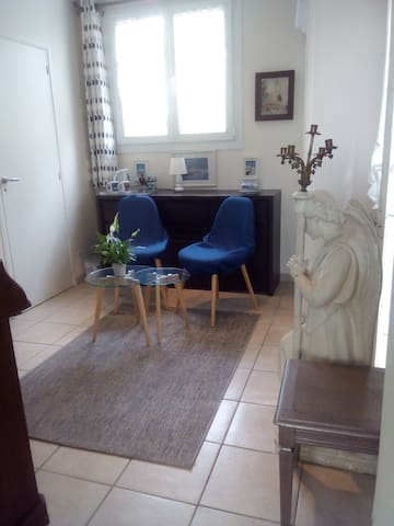 Chambre d'hôte dans maison de plein pied