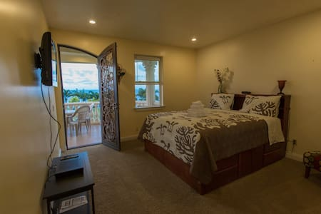 King Bed with Private Bathroom &  Ocean Views