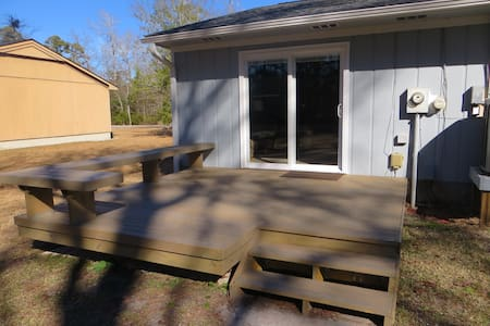 Studio, private entrance, and room for the boat! - Morehead City - Dom