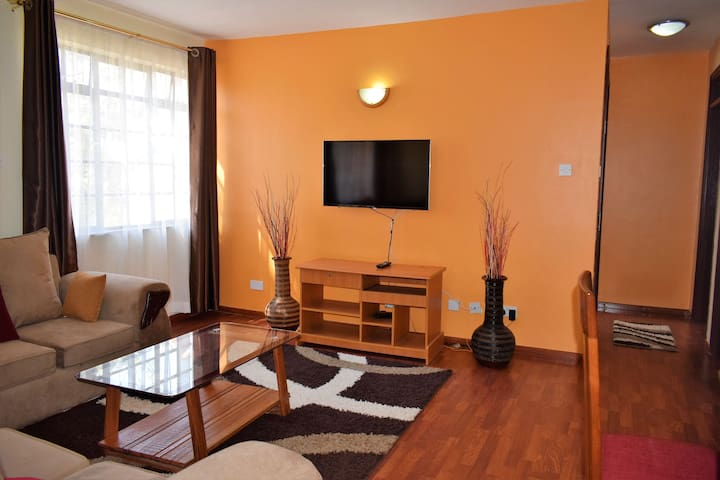 Two bedroom fully furnished secure apartment