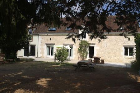 Longère proche Beauval et châteaux, idéal familles
