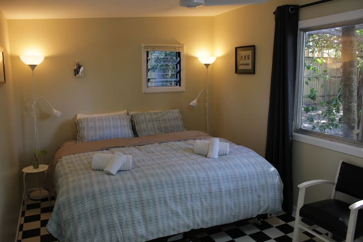 King bed configuration. Please tell us your preference when booking