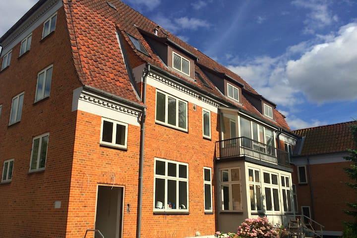 Lys og hyggelig lejlighed tæt på by og skøn natur - Odense - Apartamento
