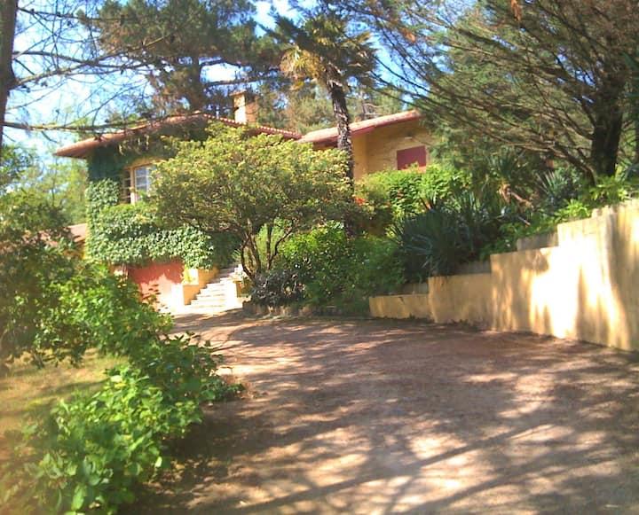 Villa année 30, piscine, 5min à pieds plages &golf