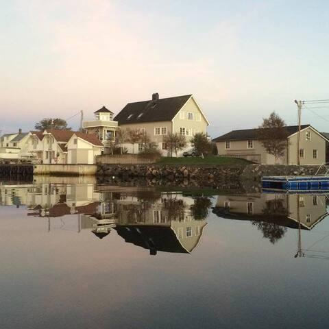 """Utsikten på Rangøy   """"Averøy, et Norge i miniatyr"""""""