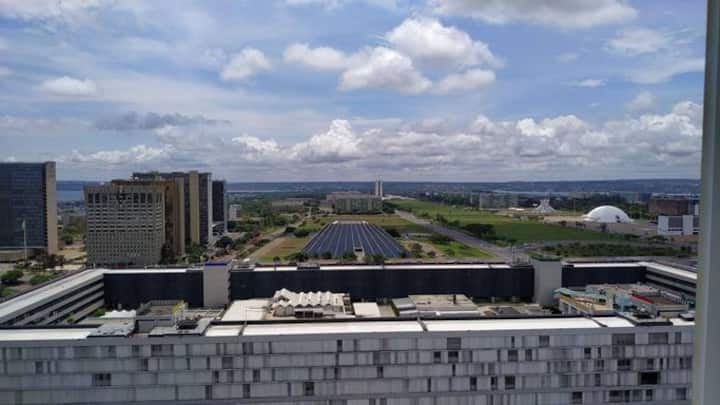 Flat com vista maravilhosa de Brasília