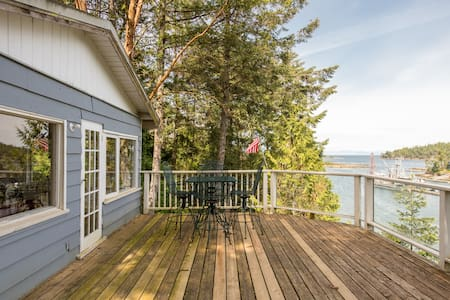 'Sea La Vie' Cottage - Galiano Island - Blockhütte