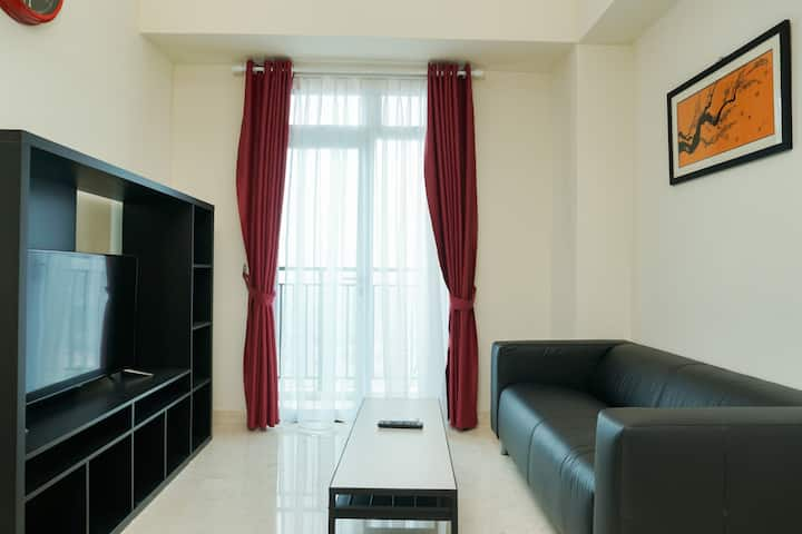 Comfortable 2BR Puri Orchard Apartment