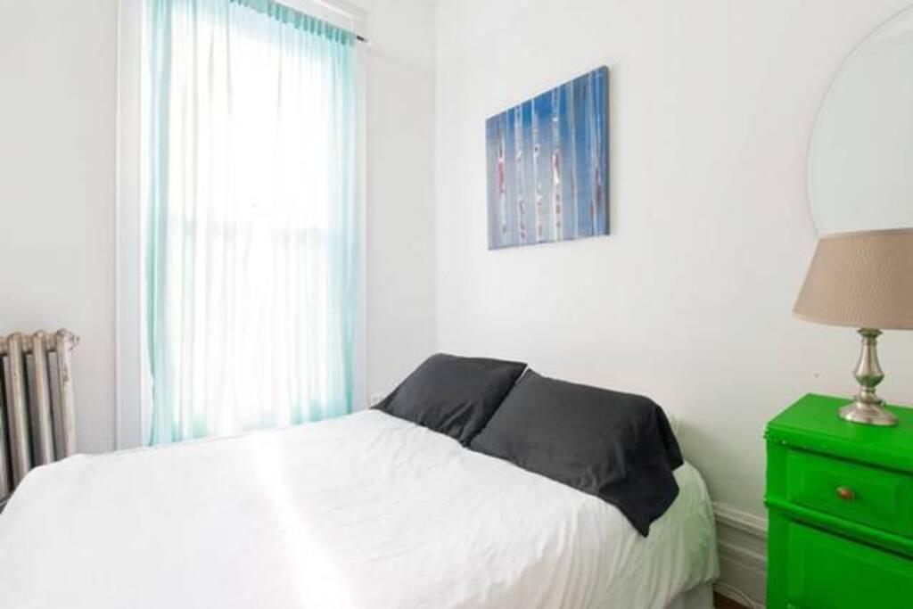 Cozy Brownstone Room