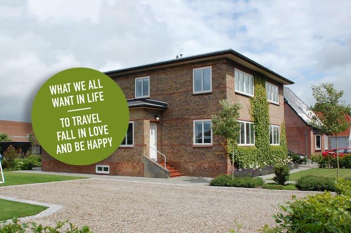 Hyggelig lille ferielejlighed i det Sønderjyske - Tinglev - Apartamento