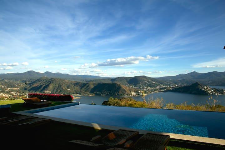 The best view, in El Santuario