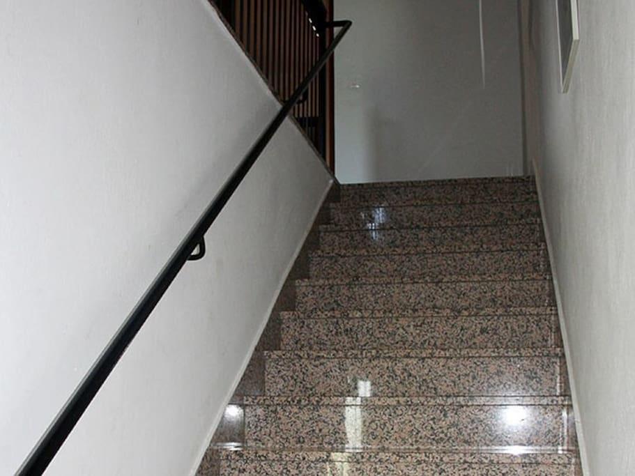 Stairs 1st floor