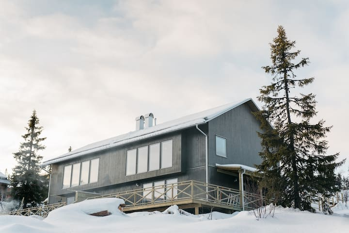 Modern spacious mountain home - Härjedalen NV - Rumah