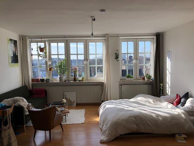 Helles gemütliches Zimmer in Ehrenfeld