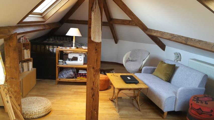 Charming and cosy mezzanine - Woluwe-Saint-Pierre - Appartamento