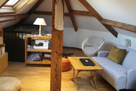 Charming and cosy mezzanine - Woluwe-Saint-Pierre - Lejlighed