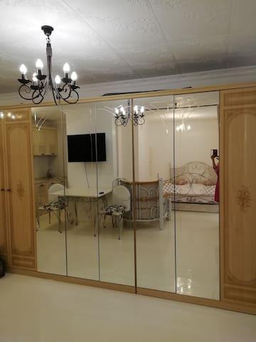 Квартира почти рядом от Москвы но тишина пруд уют