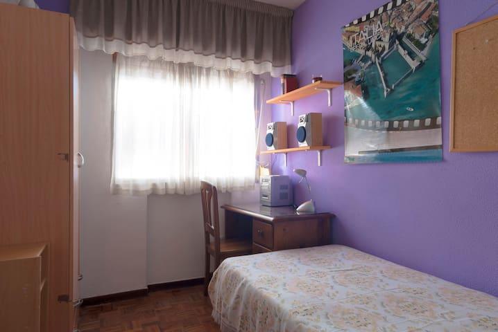 Habitación Metro Vista Alegre. WIFI